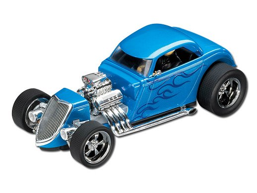 "Carrera Exclusiv ""34 Ford Hot Rod High Performance Slot Car"