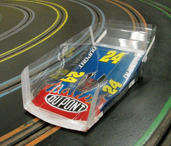 Slot Car Winged Bodies