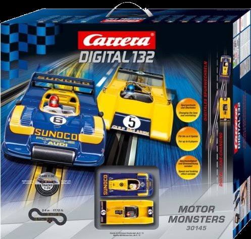 "Carrera Digital 132 ""Motor Monsters"" Race Set"