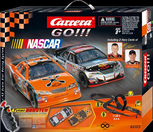 Carrera GO NASCAR 1/43 Race Set