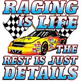 Racing Is Life Item  A6742D