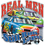 Real Men Still Run Laps