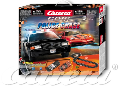 Carrera 143, 62077, Carrera 'GO' Police Chase Slot Car set