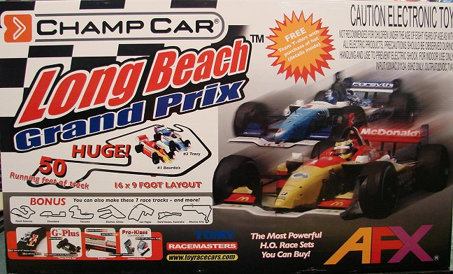 AFX Long Beach Grand Prix  Race Set