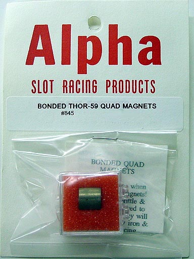 Alpha Bonded Thor-59 Quad Cobalt Magnets