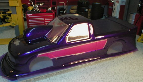 WRP S-10 Drag Truck Clear Drag Body