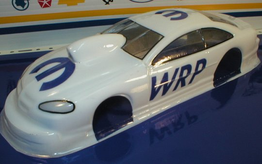 WRP Dodge Stratus Pro Stock Clear Drag Body