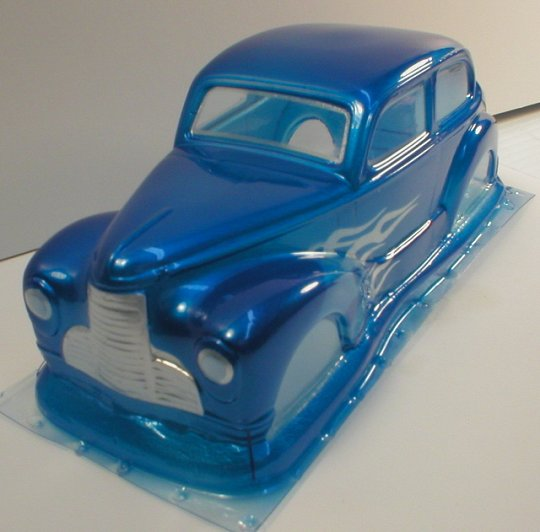 WRP 1940 Dodge Clear Drag Body