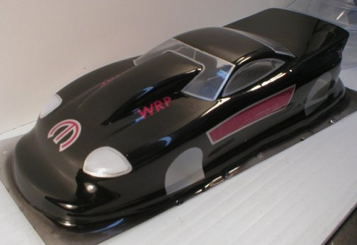 WRP Dodge Stealth Top Sportsman Clear Drag Body