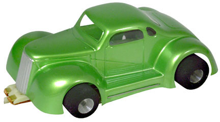 <b>New!</b> Champion 1/32 LEGENDS '37 Chevy Coupe - Clear .010&quot; Body