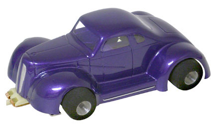 <b>New!</b> Champion LEGENDS '37 Dodge Coupe - Clear .010&quot; Body