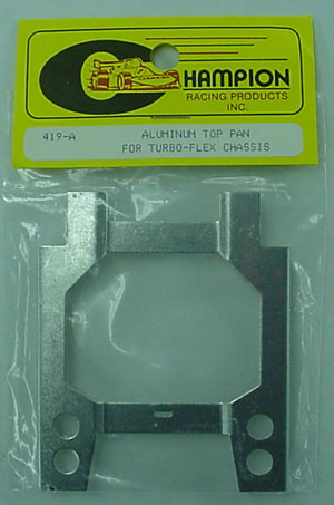 Champion Aluminum Top Pan for Turbo-Flex Chassis