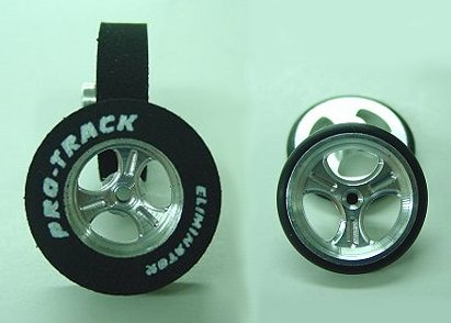 """Pro Track """"Streeter"""" 1/8"""" x 1 1/16"""" x .500 wd Rear & Front Drag Tire"""