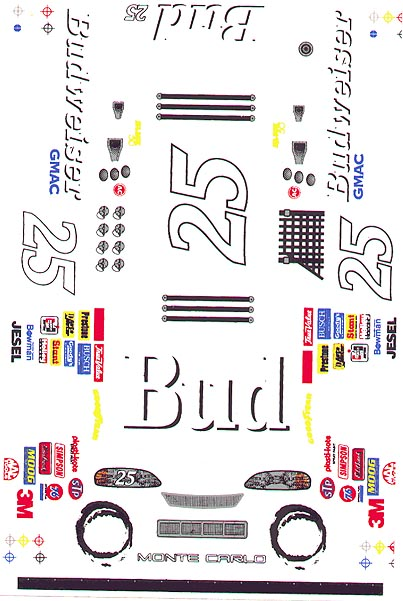 Grafix 25 Bud Decal