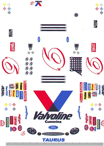 Grafix 6 Valvoline Decal Collectors!
