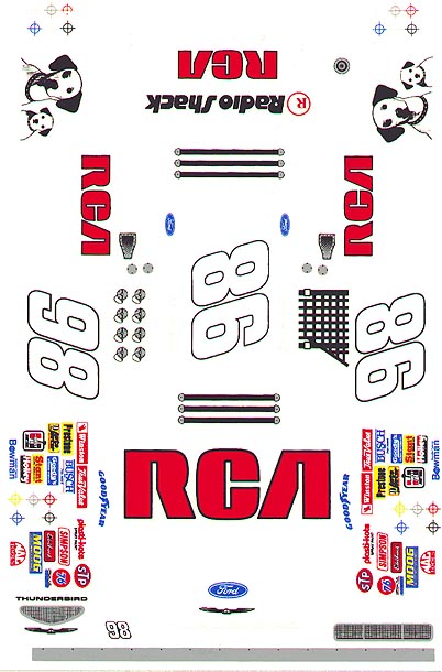 Grafix 98 RCA Decal