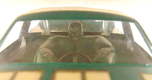 <b>New!</b> Slot Car City Ultra Custom &quot;The Hulk&quot; Nastruck body