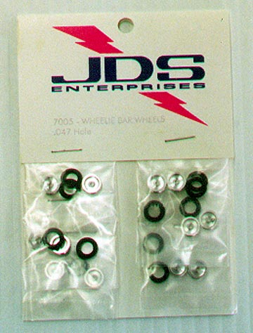 JDS Wheelie Bar Wheels