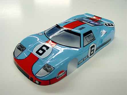 JK Ford GT- 40 <br>Custom Painted Body
