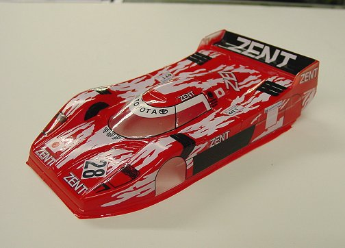 "JK Toyota GT1 ""Custom Painted Red"""
