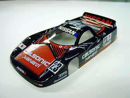 JK &quot;Nissan GT&quot; <br>Custom Painted Body