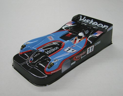 JK  Panoz Open Cockpit - custom painted GT1 body