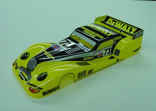 New! JK &quot;Morgan Aero GT Dewalt&quot; <br>- custom painted body