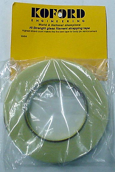 Koford High Strength Glass Filament Strapping Tape