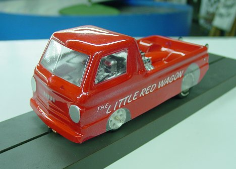 "Toytech ""Little Red Wagon"" Clear Drag Body"