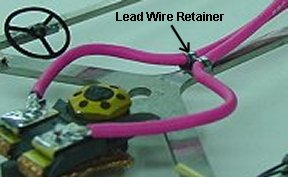 Koford Lead Wire Retainer
