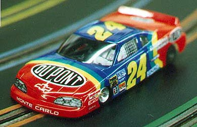 "24 Dupont Nascar Body ""Rainbow Warrior""-Collector"