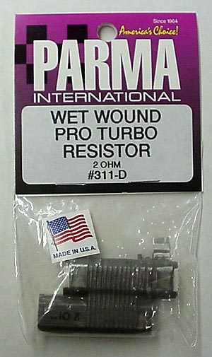 Parma 2 OHM Wet Wound Pro Turbo Resistor