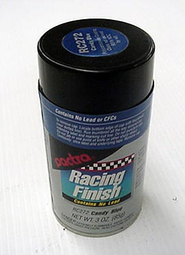 """Pactra Lexan Paint """"Candy Colors"""""""
