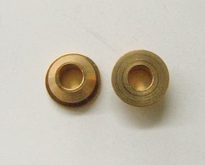 "Slick-7 Racing Bronze Bushing- 1/8"" axle"