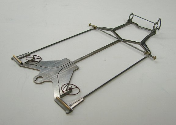 """Slick-7 """"Express V"""" Nickel Plated Gr.12 Chassis"""