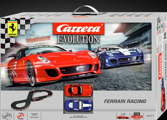Carrera Ferrari Racing Race Set
