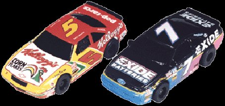 "Tyco 5 Tide / 28 Havoline NASCAR Twin Pack ""Collectors"""