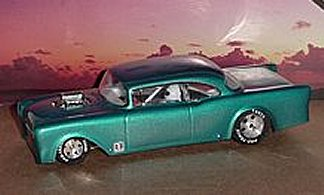 "Toytech ""55 2 Dr. Chevy A/Gas Clear Drag Body"