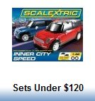 Scalextric Slot Car Race Sets under $120.00