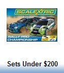 Scalextric Slot Car Race Sets under $200.00